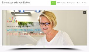 Relaunch von www.123Kinderzahn.de; Familien- und Kinderpraxis